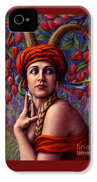 The Letter IPhone 4s Case by Jane Bucci