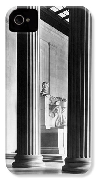 The Lincoln Memorial IPhone 4s Case by War Is Hell Store
