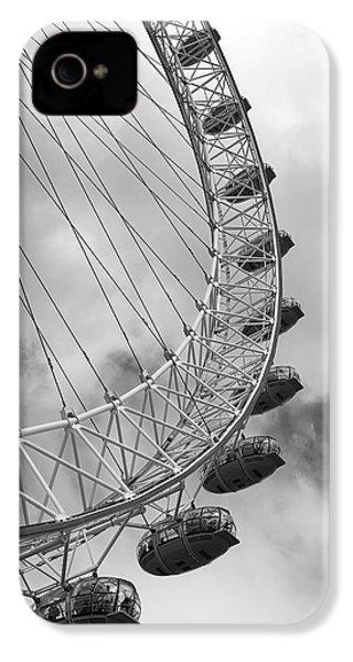 The London Eye, London, England IPhone 4s Case by Richard Goodrich