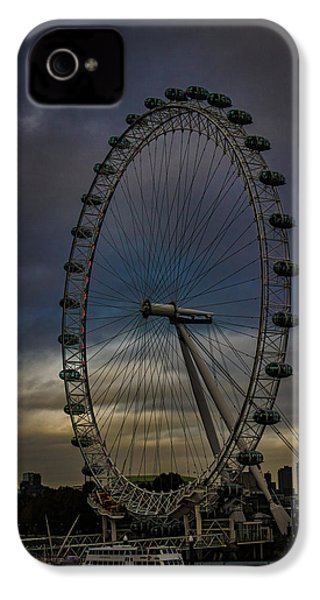 The London Eye IPhone 4s Case by Martin Newman