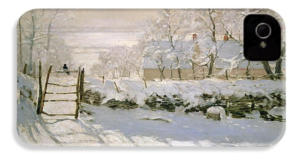 The Magpie IPhone 4s Case by Claude Monet
