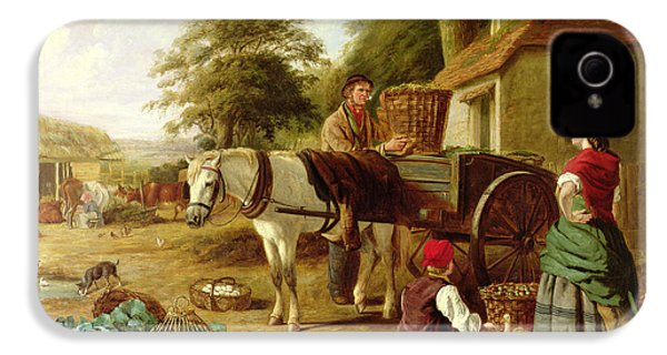 The Market Cart IPhone 4s Case by Henry Charles Bryant