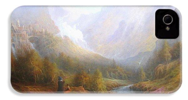 The Misty Mountains IPhone 4s Case by Joe  Gilronan