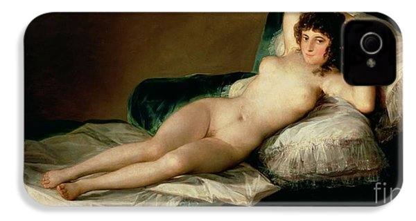 The Naked Maja IPhone 4s Case by Goya