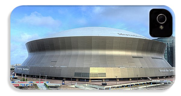 IPhone 4s Case featuring the photograph The New Orleans Superdome by JC Findley
