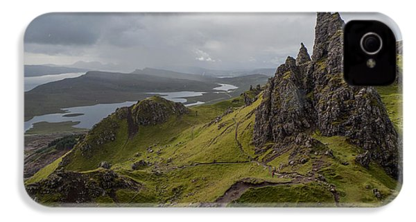 The Old Man Of Storr, Isle Of Skye, Uk IPhone 4s Case by Dubi Roman