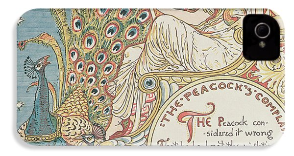 The Peacocks Complaint IPhone 4s Case by English School