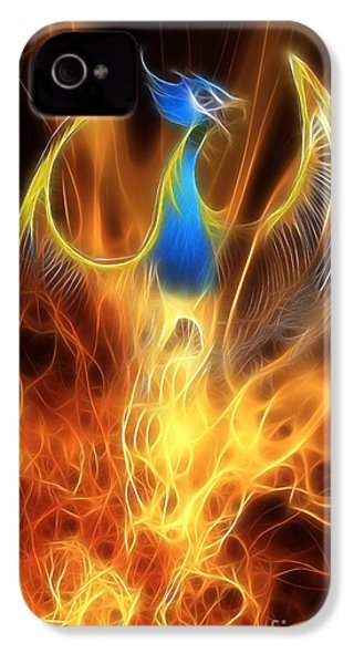 The Phoenix Rises From The Ashes IPhone 4s Case