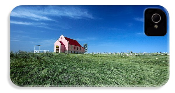 The Pink Church IPhone 4s Case by Todd Klassy