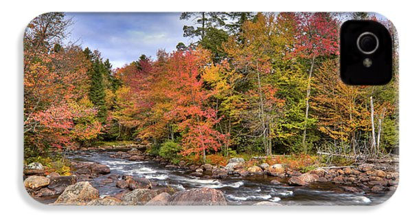 IPhone 4s Case featuring the photograph The Rapids On The Moose River by David Patterson