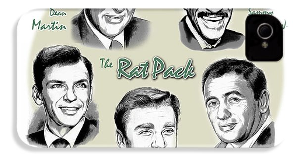 The Rat Pack IPhone 4s Case by Greg Joens