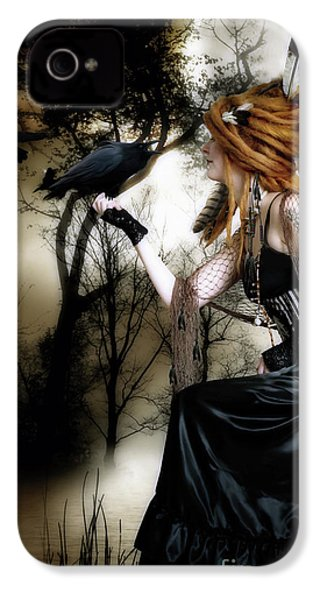 The Raven IPhone 4s Case by Shanina Conway