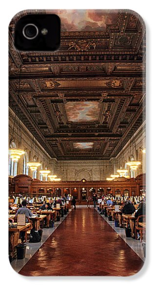 IPhone 4s Case featuring the photograph The Rose Reading Room II by Jessica Jenney
