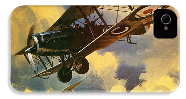 The Royal Flying Corps IPhone 4s Case by Wilf Hardy