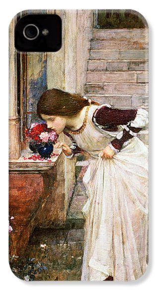 The Shrine IPhone 4s Case by John William Waterhouse