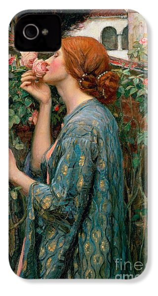 The Soul Of The Rose IPhone 4s Case by John William Waterhouse