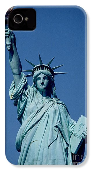 The Statue Of Liberty IPhone 4s Case by American School