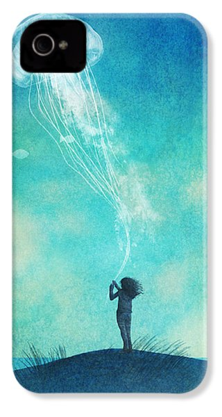 The Thing About Jellyfish IPhone 4s Case by Eric Fan