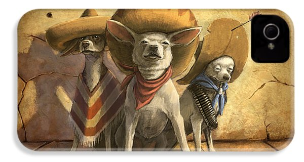 The Three Banditos IPhone 4s Case by Sean ODaniels