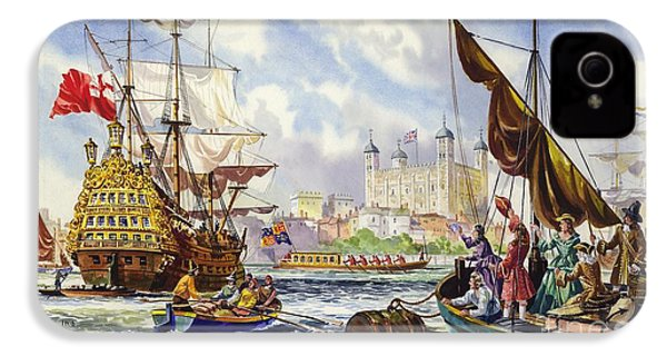The Tower Of London In The Late 17th Century  IPhone 4s Case by English School