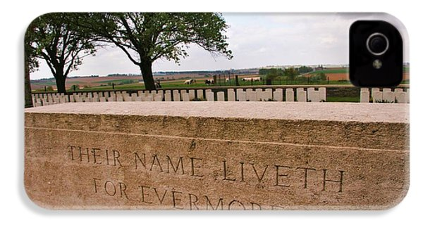 IPhone 4s Case featuring the photograph Their Name Liveth For Evermore by Travel Pics