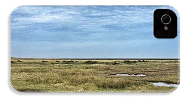 Thornham Marshes, Norfolk IPhone 4s Case by John Edwards