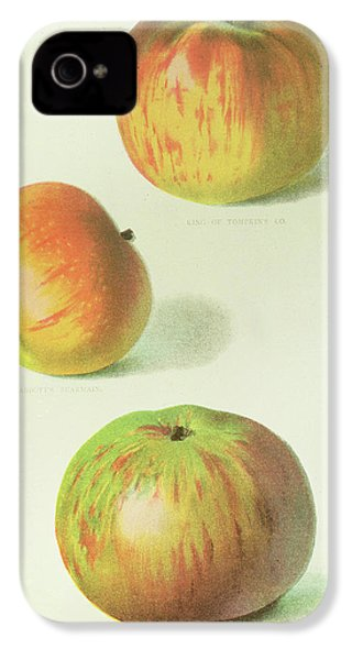 Three Apples IPhone 4s Case by English School