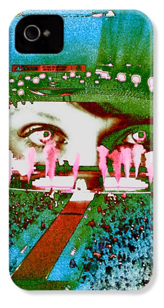 Through The Eyes Of Taylor IPhone 4s Case by Kim Peto