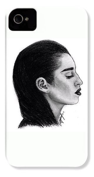 Lauren Jauregui Drawing By Sofia Furniel IPhone 4s Case