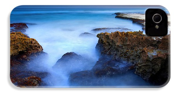Tidal Bowl Boil IPhone 4s Case by Mike  Dawson