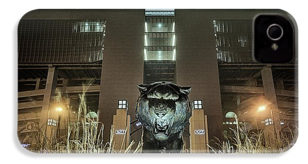IPhone 4s Case featuring the photograph Tiger Stadium On Saturday Night by JC Findley