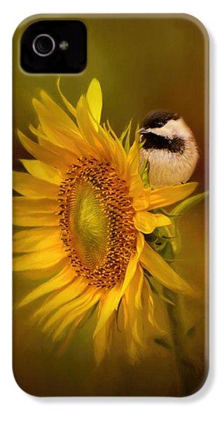 Tiny Surprise Bird Art IPhone 4s Case by Jai Johnson