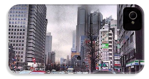 Tokyo Cloudy IPhone 4s Case by Moto Moto