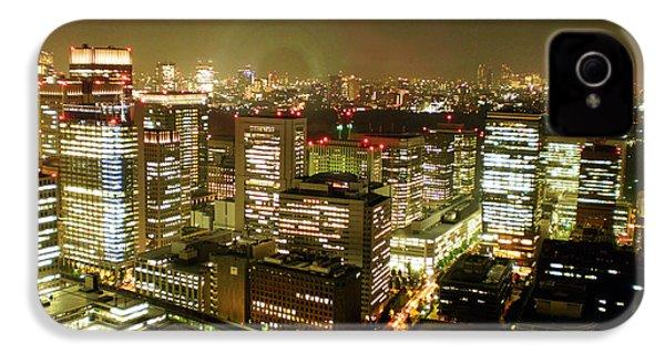 Tokyo Skyline IPhone 4s Case by Nancy Ingersoll