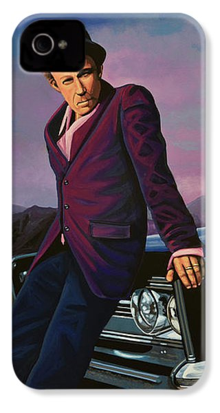 Tom Waits IPhone 4s Case by Paul Meijering