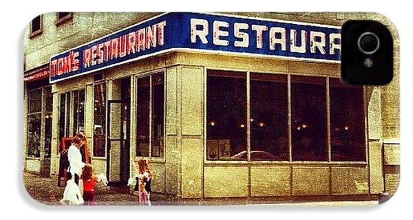 Tom's Restaurant. #seinfeld IPhone 4s Case by Luke Kingma