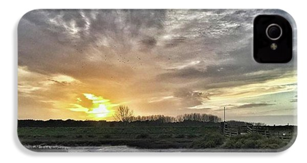 Tonight's Sunset From Thornham IPhone 4s Case by John Edwards