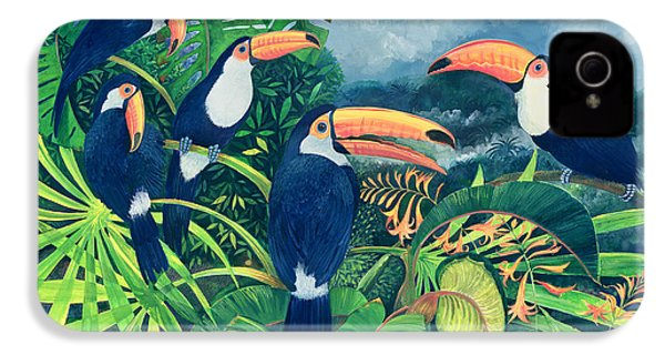 Toucan Talk IPhone 4s Case by Lisa Graa Jensen