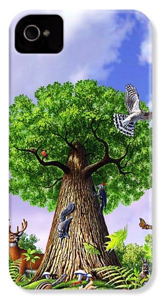 Tree Of Life IPhone 4s Case by Jerry LoFaro