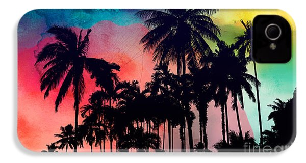 Tropical Colors IPhone 4s Case by Mark Ashkenazi
