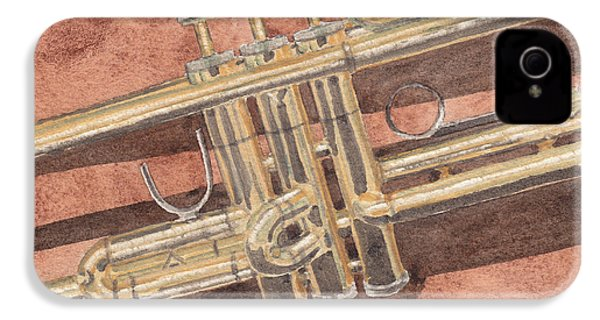 Trumpet IPhone 4s Case by Ken Powers