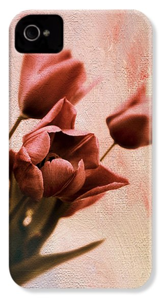 IPhone 4s Case featuring the photograph Tulip Whimsy by Jessica Jenney