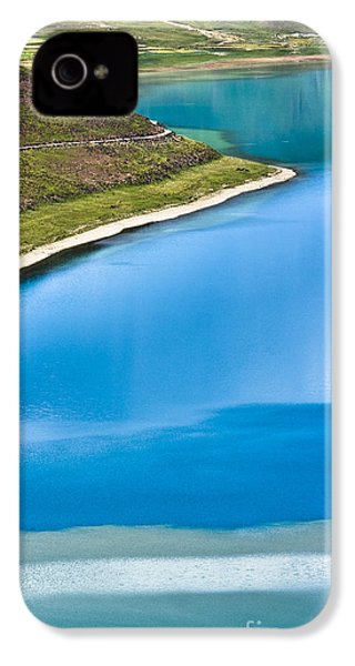 Turquoise Water IPhone 4s Case by Hitendra SINKAR