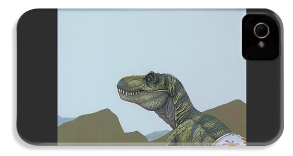 Tyranosaurus Rex IPhone 4s Case by Jasper Oostland