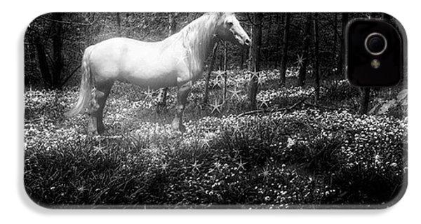 Under A Moonlit Sky  #fantasy #unicorn IPhone 4s Case
