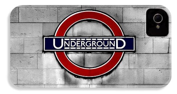 Underground IPhone 4s Case by Mark Rogan