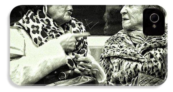 Underground Wild Ladies #women #ladies IPhone 4s Case by Rafa Rivas