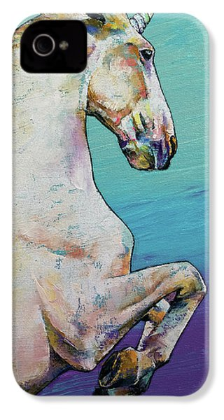 Unicorn IPhone 4s Case by Michael Creese