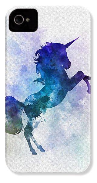 Unicorn IPhone 4s Case by Rebecca Jenkins