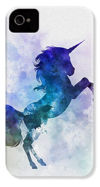 Unicorn IPhone 4s Case by Rebecca Jenkins
